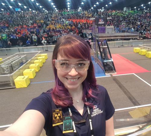 FIRST Volunteers: Meet April Riddett