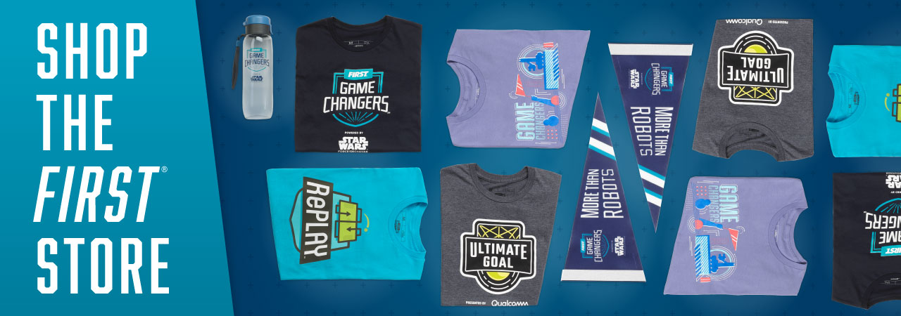 Get Your Game On With FIRST Merch