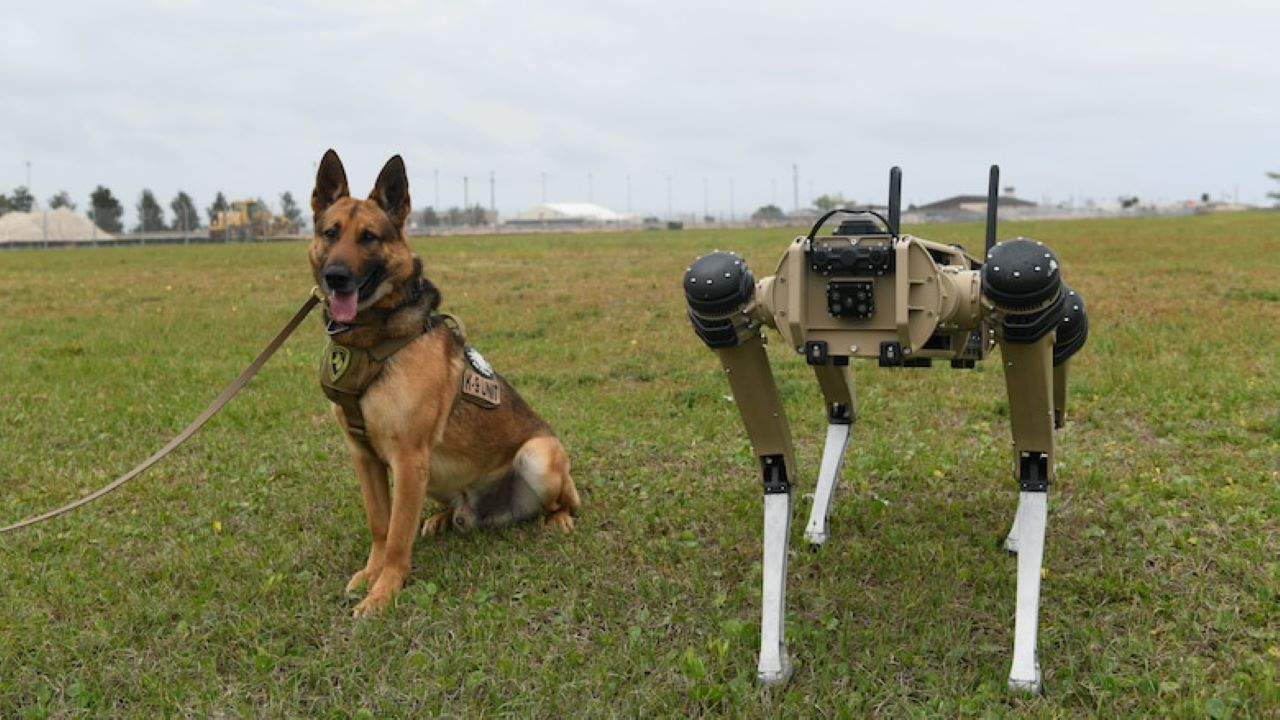 FIRST Sponsor United States Air Force Enhances Security with Robotic Dog